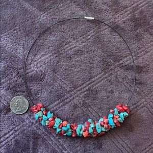 Jewelry - Turquoise & Coral Necklace